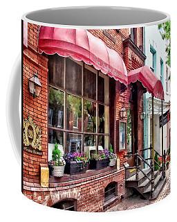Alexandria Va - Red Awnings On King Street Coffee Mug