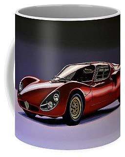 Alfa Romeo 33 Stradale 1967 Painting Coffee Mug