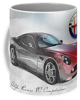 Alfa Romeo 8c Competizione  Coffee Mug