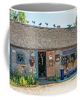 Alfie Glover's Bird Barn Coffee Mug