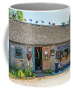 Alfie Glover's Bird Barn Coffee Mug