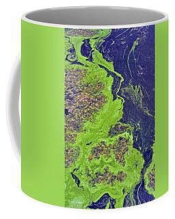 Algae On A Pond Coffee Mug
