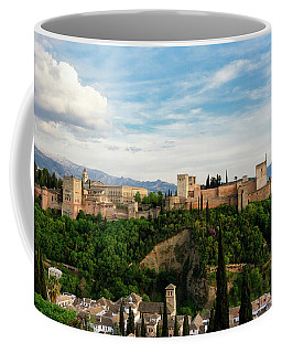Alhambra In The Evening Coffee Mug