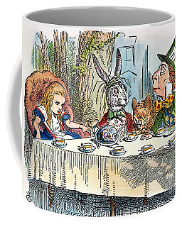 Alices Mad-tea Party, 1865 Coffee Mug