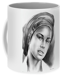 Alicia Keys 2 Coffee Mug