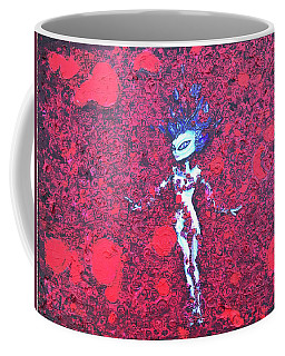 Alien Beauty Coffee Mug