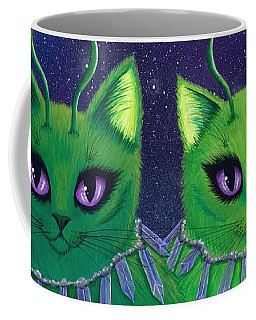 Alien Cats Coffee Mug