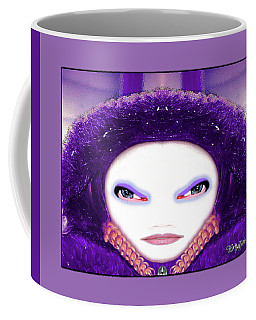 Coffee Mug featuring the photograph Alien Mom #194 by Barbara Tristan