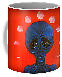 Alien Moonchild Coffee Mug