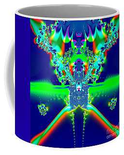Alien Poodle Fractal 96 Coffee Mug