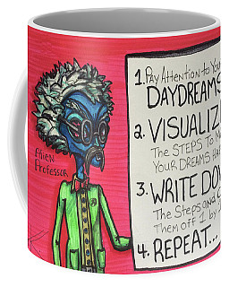 Alien Professor Coffee Mug