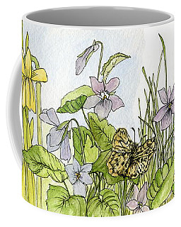 Alive In A Spring Garden Coffee Mug