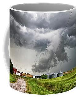 Alive Sky In Wyoming Coffee Mug