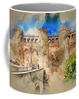 Aljaferia Moorish Palace Spain Coffee Mug by Jack Torcello