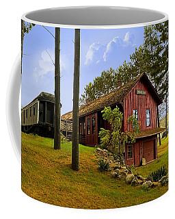 All Aboard Coffee Mug by Judy Johnson