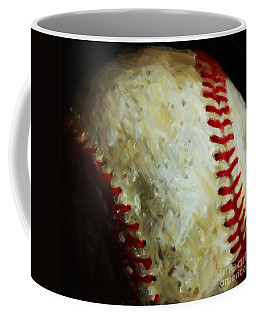 All American Pastime - Baseball - Square - Painterly Coffee Mug