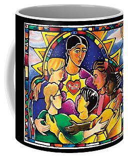 All Are Welcome - Mmaaw Coffee Mug