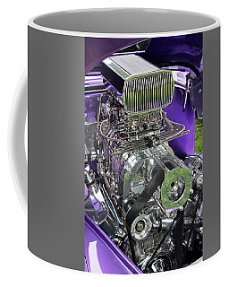 All Chromed Engine With Blower Coffee Mug