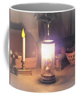 Coffee Mug featuring the photograph All Fired Up by Denise Fulmer