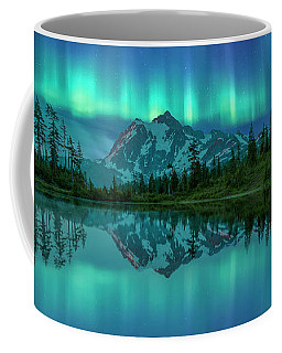 Coffee Mug featuring the photograph All In My Mind by Jon Glaser