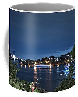 Coffee Mug featuring the photograph All Lit Up by Elaine Teague