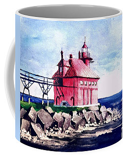All Red Coffee Mug by Jim Phillips
