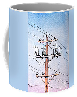 All Strung Up Coffee Mug