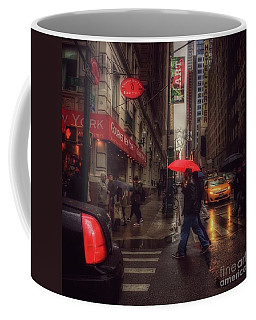 All That Jazz. New York In The Rain. Coffee Mug