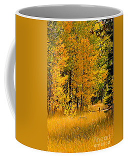 All The Soft Places To Fall Coffee Mug by Mitch Shindelbower