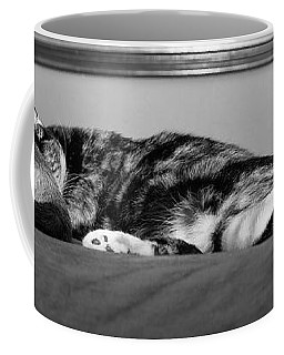 All Tuckered Out Coffee Mug by Karen Slagle
