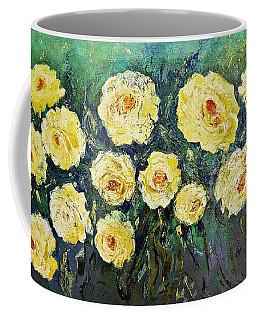 All Yellow Roses Coffee Mug