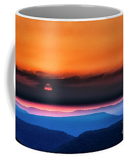 Coffee Mug featuring the photograph Allegheny Mountain Sunrise 2 by Thomas R Fletcher