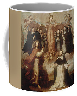 Allegory Of The Virgin Patroness Of The Dominicans Coffee Mug