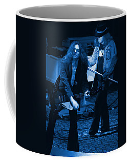 Allen Collins And Ronnie Van Zant Same Old Winterland Blues Coffee Mug