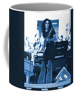 Allen Collins In Blue Oakland 1975 Coffee Mug