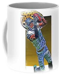 Allen Robinson Jacksonville Jaguars Oil Art Coffee Mug