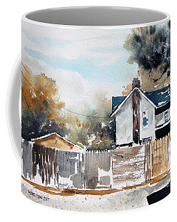 Alley Fences Coffee Mug