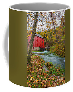Alley Mill In Autumn Coffee Mug