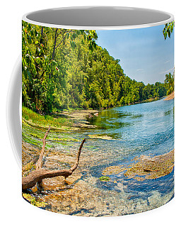 Coffee Mug featuring the photograph Alley Springs Scenic Bend by John M Bailey