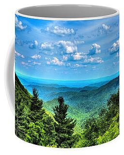 Alligator Back Overlook Coffee Mug by Dale R Carlson