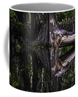 Alligators The Hunt, New Orleans, Louisiana Coffee Mug