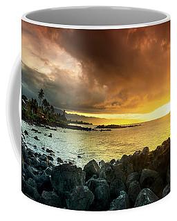 Alligator Rock Sunset Coffee Mug