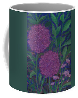 Allium And Geranium Coffee Mug