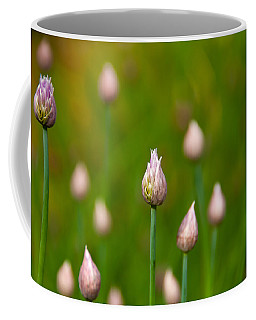 Coffee Mug featuring the photograph Allium Plants by Monte Stevens