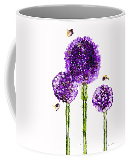 Alliums Humming Coffee Mug