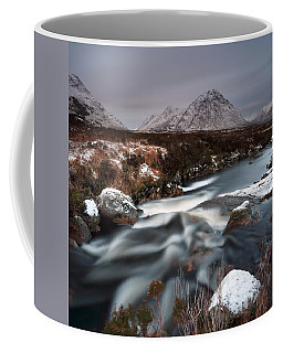 Allt Nan Giubhas And The Peak Of Stob Dearg Coffee Mug
