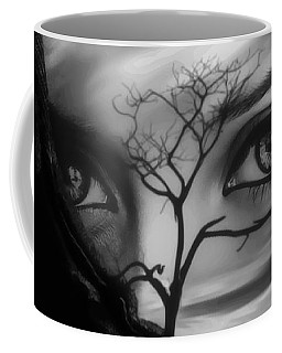 Allure Of Arabia Black Coffee Mug