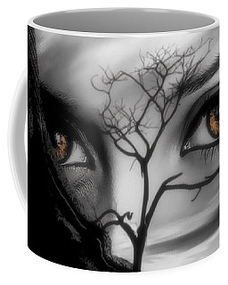 Allure Of Arabia Brown Coffee Mug
