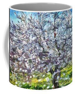 Almond Blossom Coffee Mug by Tracey Harrington-Simpson