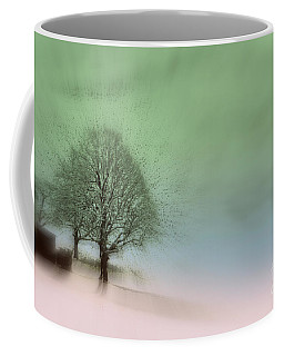 Coffee Mug featuring the photograph Almost A Dream - Winter In Switzerland by Susanne Van Hulst